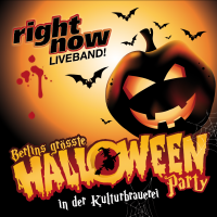 Halloween in der Kulturbrauerei<br><small>mit RIGHT NOW-Disco Live im Kesselhaus</small>