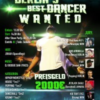 Berlin�s Best Dancer Wanted <br><small>+ Aftershow Party</small>