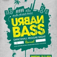Urban Bass Dancehall Reggae Night