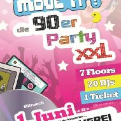 Move iT  - die 90er Party XXL