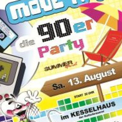 Move iT - die 90er Party - Summer Special